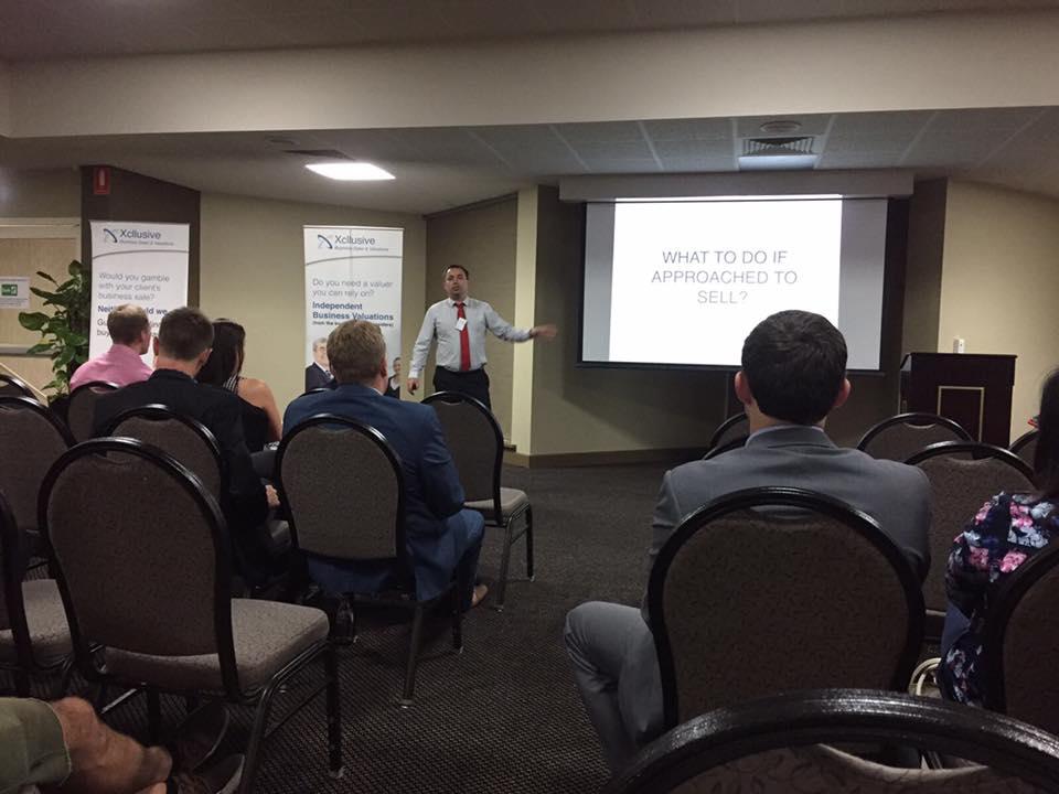 Xcllusive Business Brokers Seminar